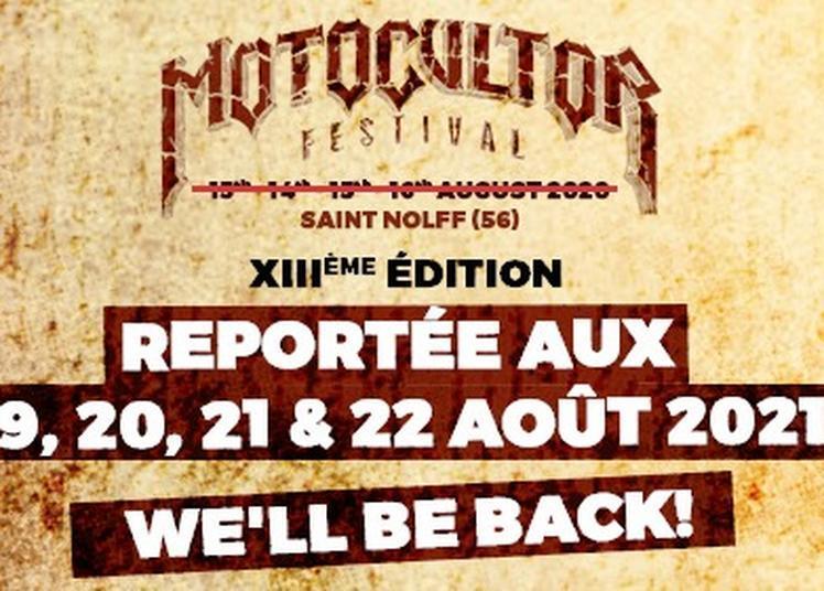 Motocultor Festival 2021- Pass 1 Jour à Saint Nolff