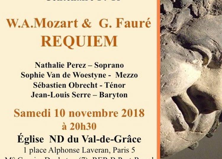 Mozart et faure : requiem à Paris 5ème