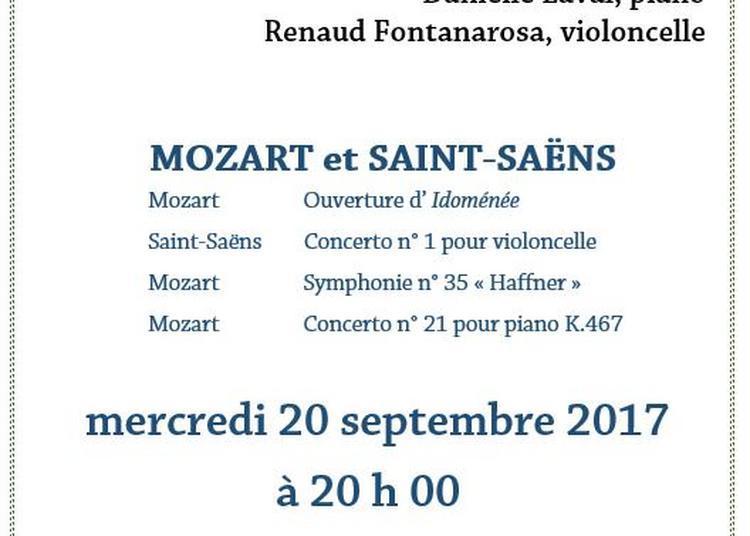 Mozart et Saint-Saëns à Paris 8ème