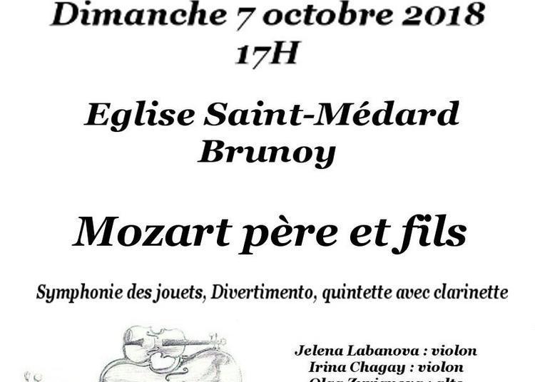 Mozart Père & Fils à Brunoy