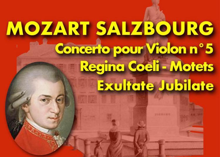 Mozart Salzbourg à Choisy le Roi