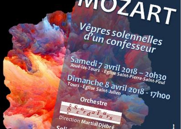 Mozart Vespres solennelles d'un confesseur à Tours