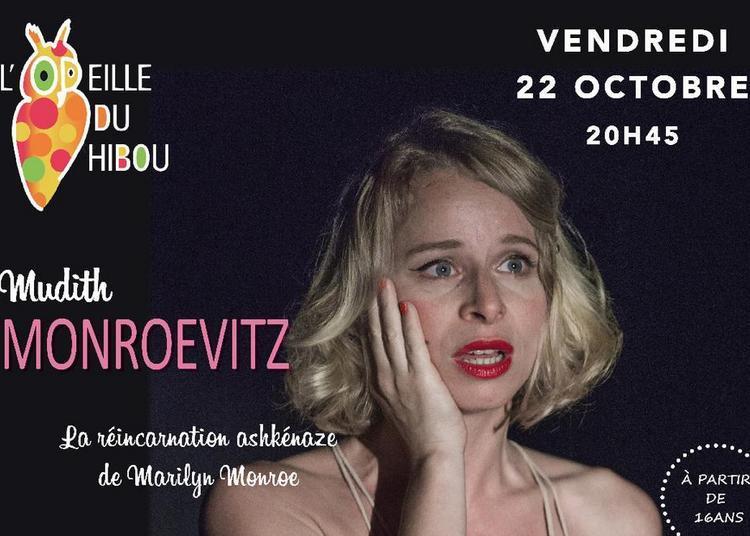 Mudith Monroevitz, la réincarnation ashkénaze de Marilyn Monroe à Montreal
