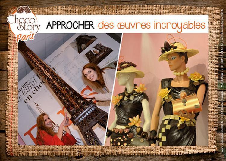 Musee Gourmand Du Chocolat : Visite + dégustation à Paris 10ème