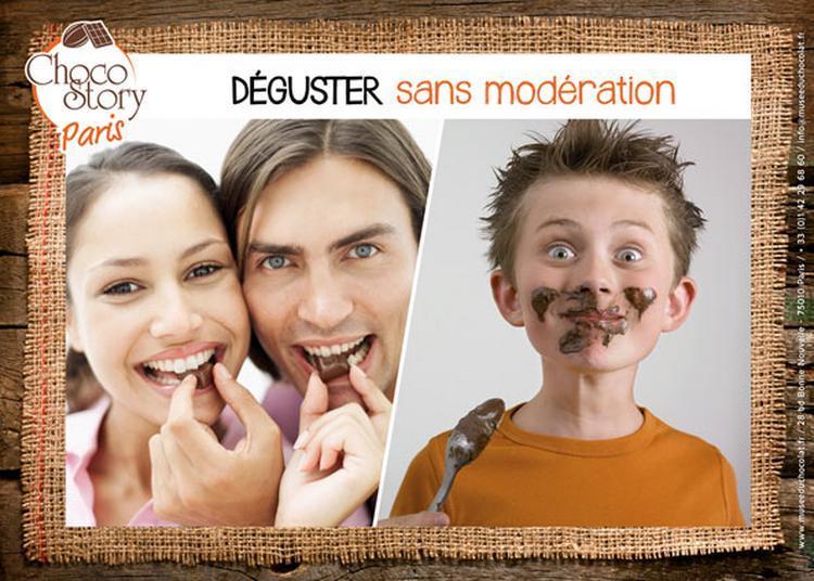 Musee Gourmand Du Chocolat : Visite + dégustation + cadeau à Paris 10ème