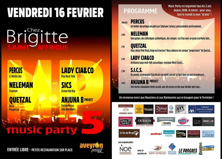 Music Party 5 à Saint Affrique