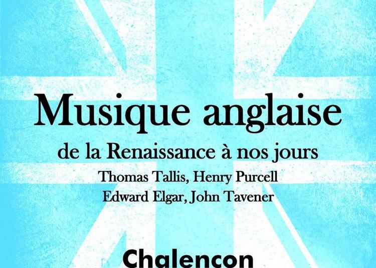 Musique anglaise de la Renaissance à nos jours à Chalencon