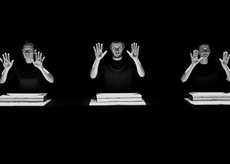 Musique de tables - d'après la partition de Thierry de Mey à Montreuil