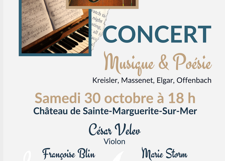 Musique et poésie à Sainte Marguerite sur Mer