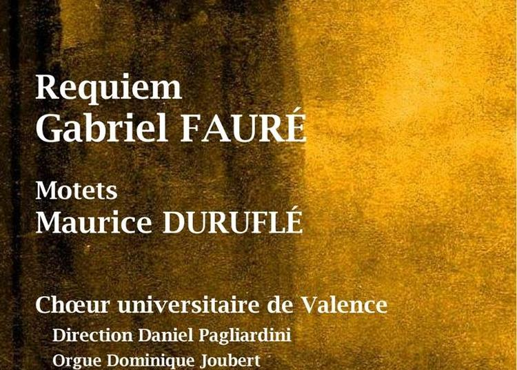 Musique française pour choeur et orgue à Saint Paul Trois Chateaux