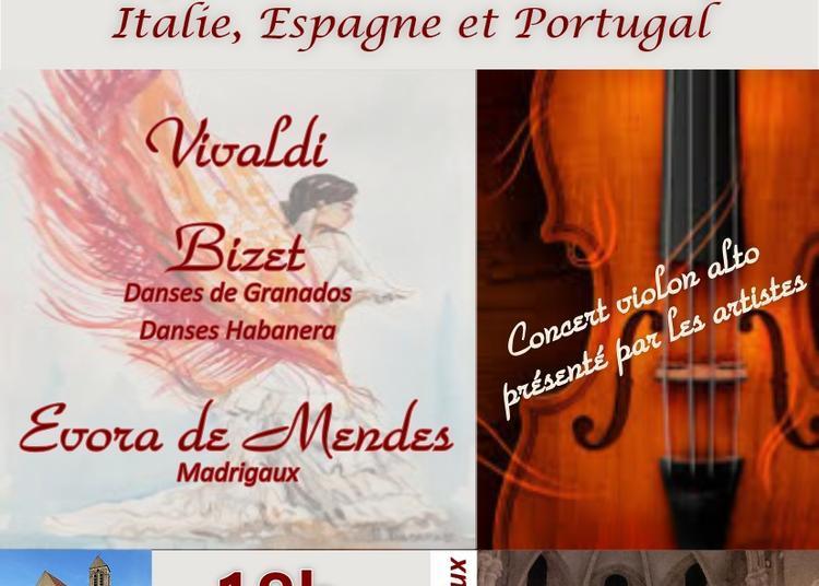 Musiques sacrées et romantiques d'Italie, Espagne et Portugal à Sucy en Brie