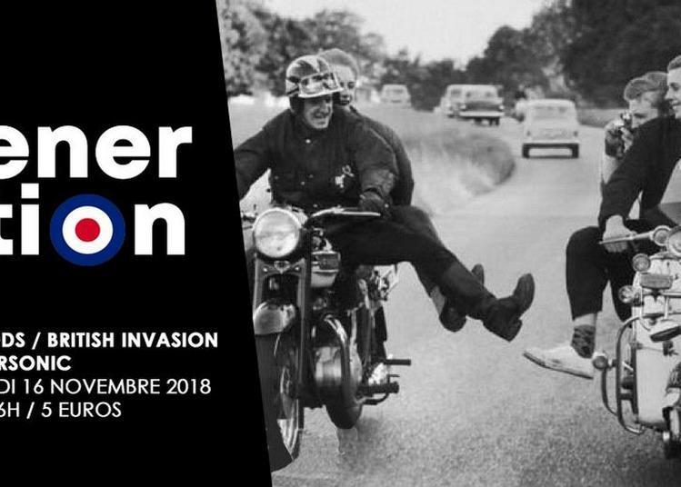 My Generation / La Nuit Mods - British Invasion à Paris 12ème