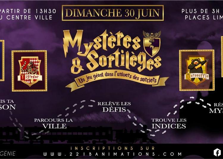 Mystères & Sortilèges - Jeu géant - Enquête dans la ville 2019