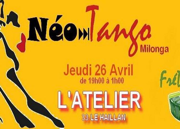 Néo Tango Milonga Et Stage Tango Argentin Débutant Avec Igor à Le Haillan