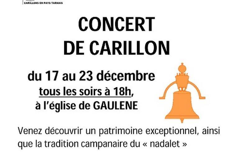 Nadalet Va Résonner Au Carillon De Gaulene (81340) à Saint Julien Gaulene