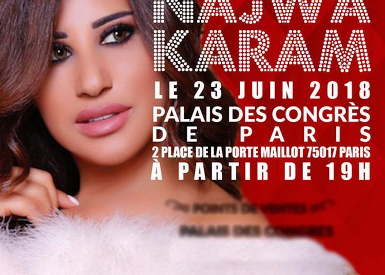Najwa Karam à Paris 17ème