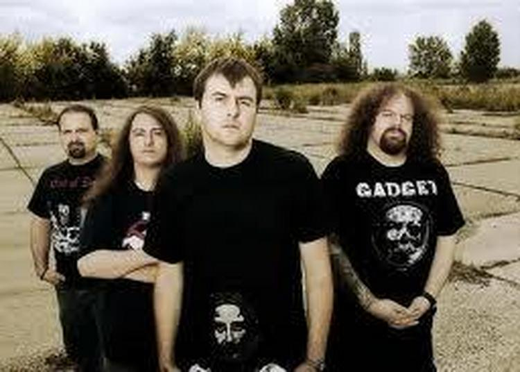 Napalm Death à Paris 11ème