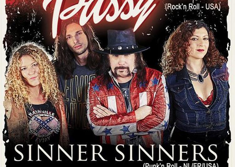 Nashville Pussy, Sinner Sinners + Guest à Paris 19ème