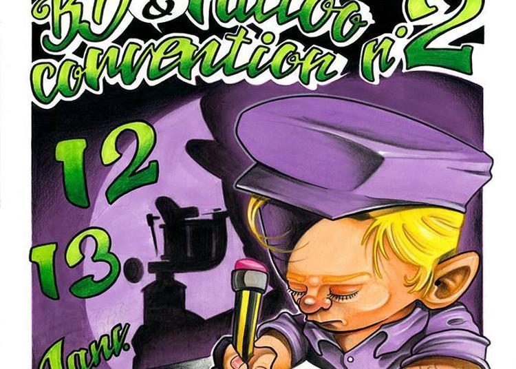 2nde convention tatouage et bande dessinée de Vannes