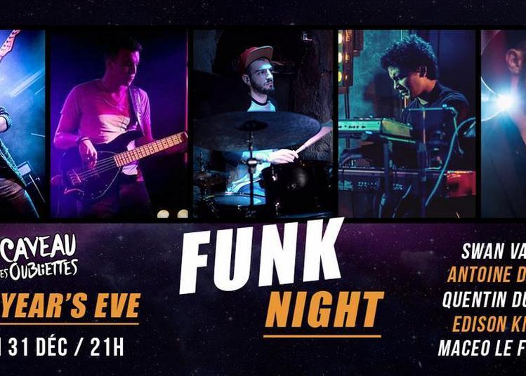 New Year's Eve - Diner Concert et Dj set Funk - Funk Night à Paris 5ème