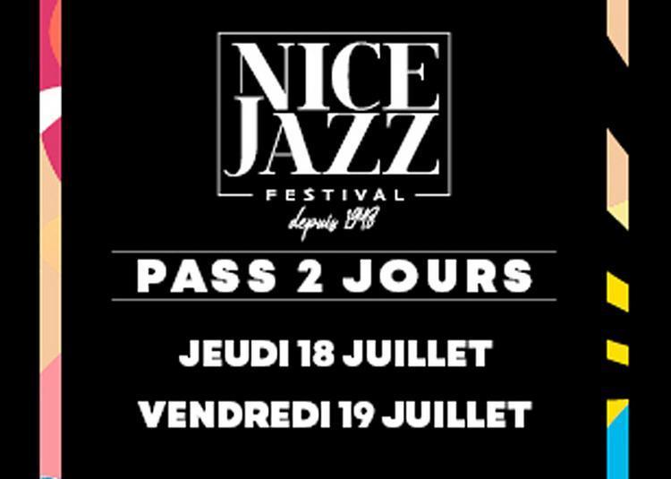 Nice Jazz Festival Pass J+V