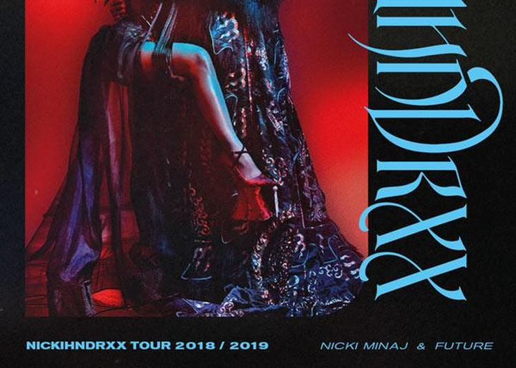 Nicki Minaj Et Future à Paris 12ème
