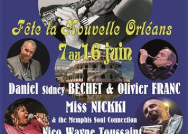 Nico Wayne Toussaint - Miss Nickki & The Memphis Soul Connection à Leognan