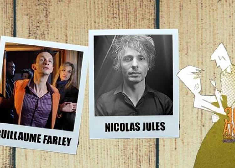 Nicolas Jules & Guillaume Farley | Festival Lève ton vers à Toulouse
