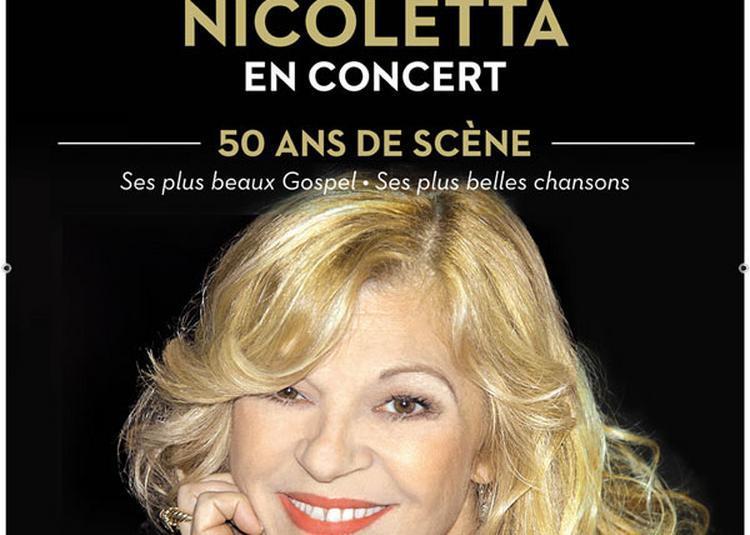 Nicoletta - 50 Ans De Scène - Report à Paris 8ème