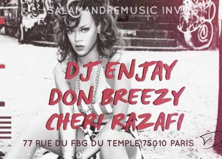 Night School W/Dj Enjay - Don Breezy - Cheri Razafi à Paris 10ème