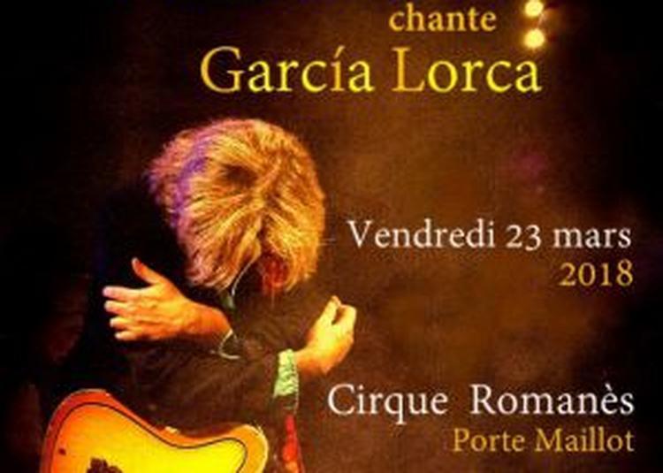 Nilda Fernandez Chante Garcia Lorca à Paris 16ème