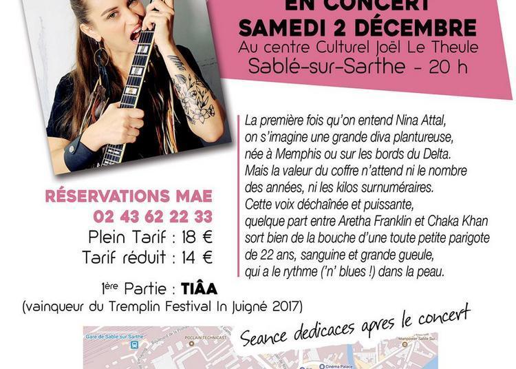 Nina Attal à Sable sur Sarthe