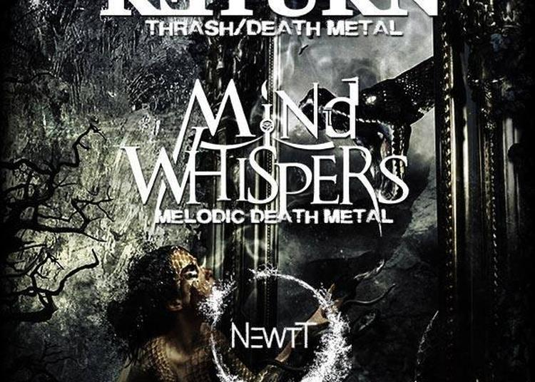 No Return / Mind Whispers / NewTT à l'Usine à Musique - Toulouse