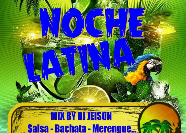 Noche Latina | Mix Dj Jeison & Initiation Salsa-merengue à Montpellier