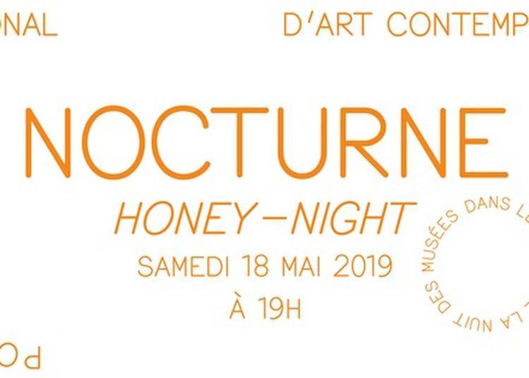 Nocturne Honey-night Dans Le Cadre De L'exposition Morgane Tschiember, Honey, Honey ! à Le Havre
