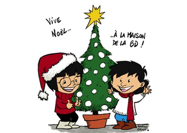Noël à la Maison de la bd à Blois