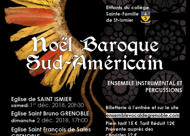 Noel baroque sud-américain à Saint Ismier