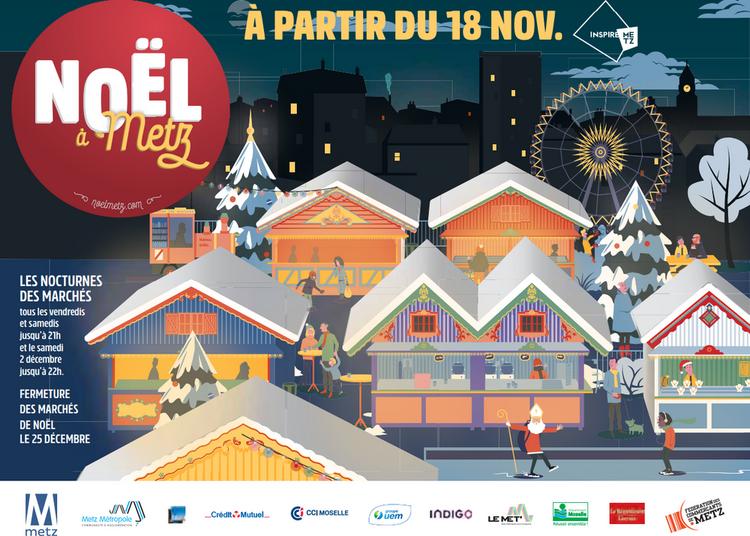Marché de Noël de Metz 2017