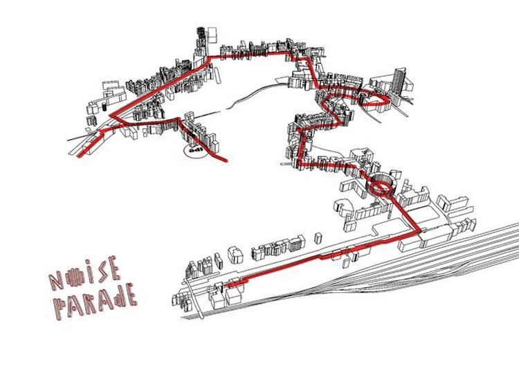 Noise Parade à Mulhouse