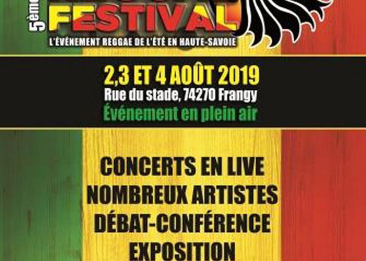 Nomade Reggae Festival 2019 à Frangy