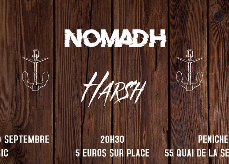 Nomadh et Harsh à Paris 19ème