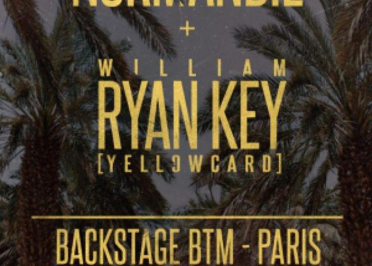 Normandie + Ryan Key (yellowcard) à Paris 18ème