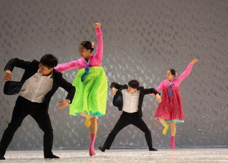 North Korea Dance à Villefranche sur Saone