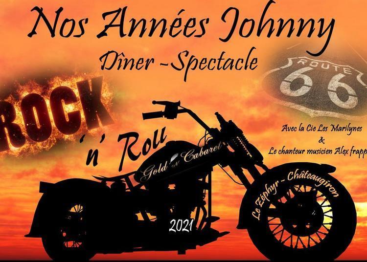Nos Années Johnny - Dîner spectacle à Chateaugiron