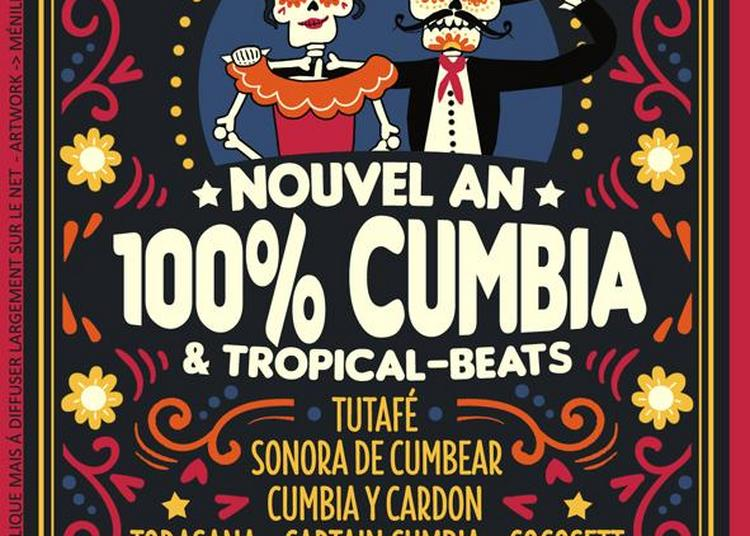 Nouvel An 100% Cumbia ! à Paris 19ème