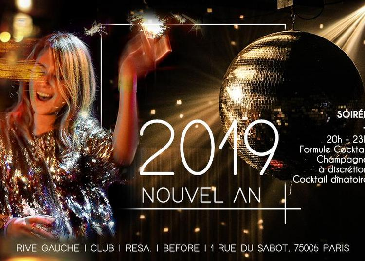 Nouvel An I Dance at midnight I Rive Gauche