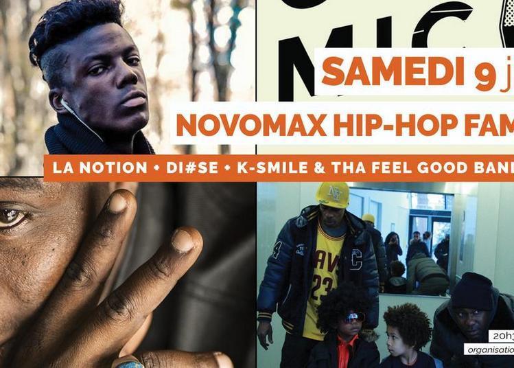 Novomax hip-hop family à Quimper