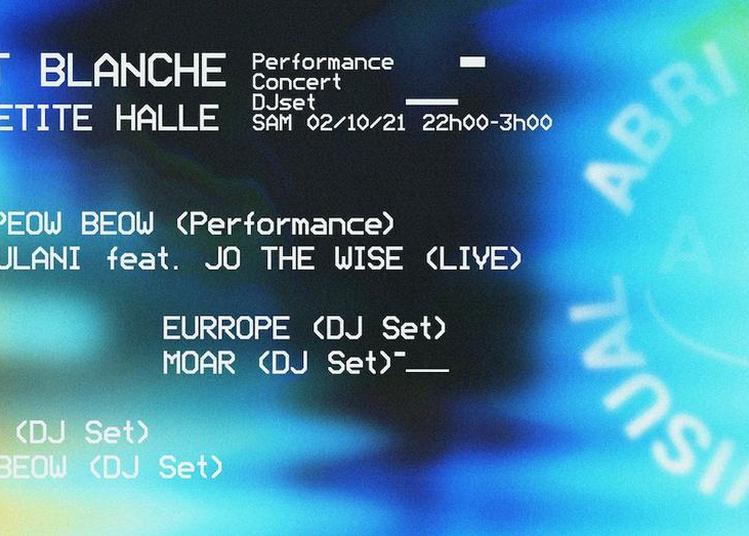 Nuit Blanche : Carte Blanche À Abri à Paris 19ème