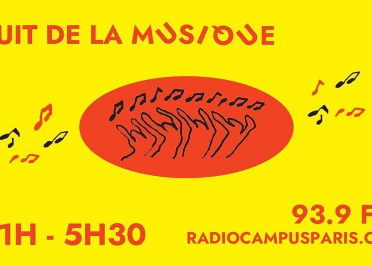 Nuit de la Musique sur Radio Campus Paris à Paris 3ème