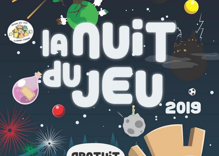 Nuit du Jeu 2019 à Clermont Ferrand